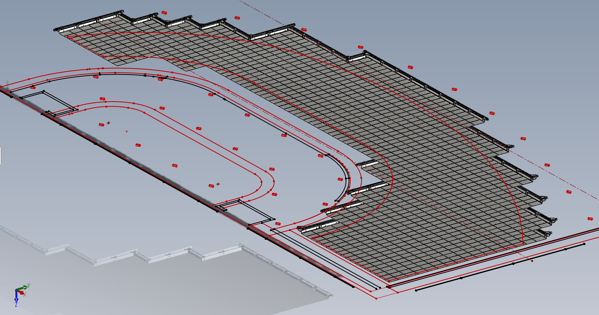 Digital Projections Frame in SOLIDWORKS