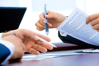 Contract to hire with a staffing agency