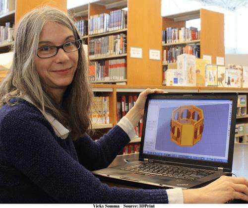 Vicky Somma - Source: 3D Print