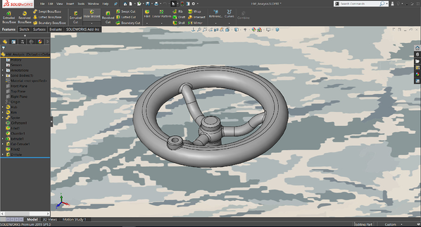 Display Customization in SOLIDWORKS