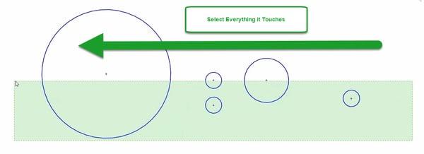 Choosing Lasso Range in SOLIDWORKS