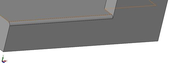 SOLIDWORKS Fillets Model