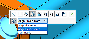 Misaligned Mates Message in SOLIDWORKS