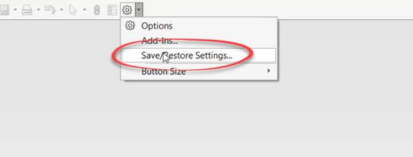 Copy settings Wizard