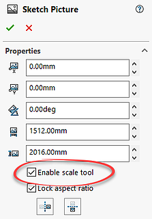 Sketch Picture option in SOLIDWORKS