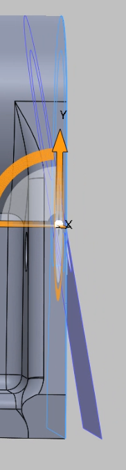 Changing face angle in SOLIDWORKS