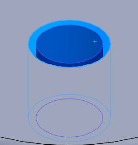 Changing face size in SOLIDWORKS