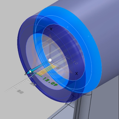 changing face shape in SOLIDWORKS