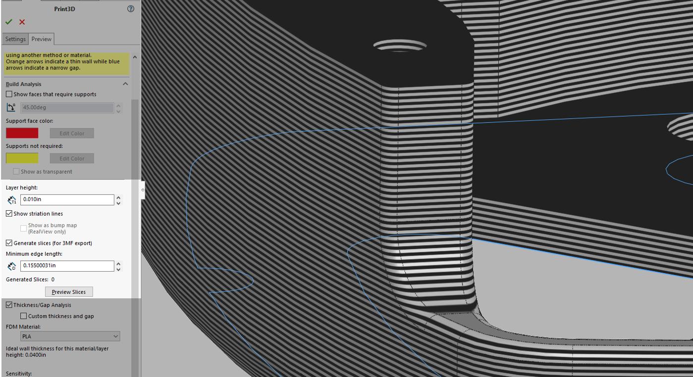 3D Print Slicing
