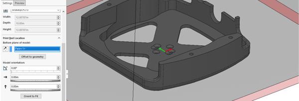 SOLIDWORKS-3d-print-print-bed-location-orientation