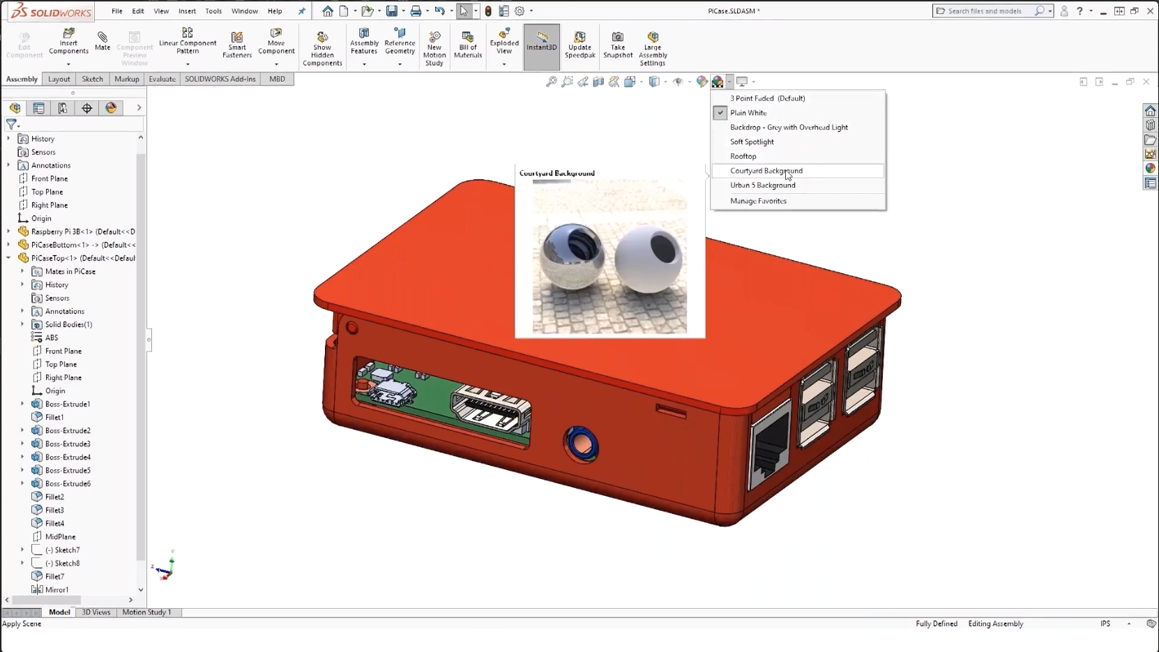 SOLIDWORKS RealView Graphics