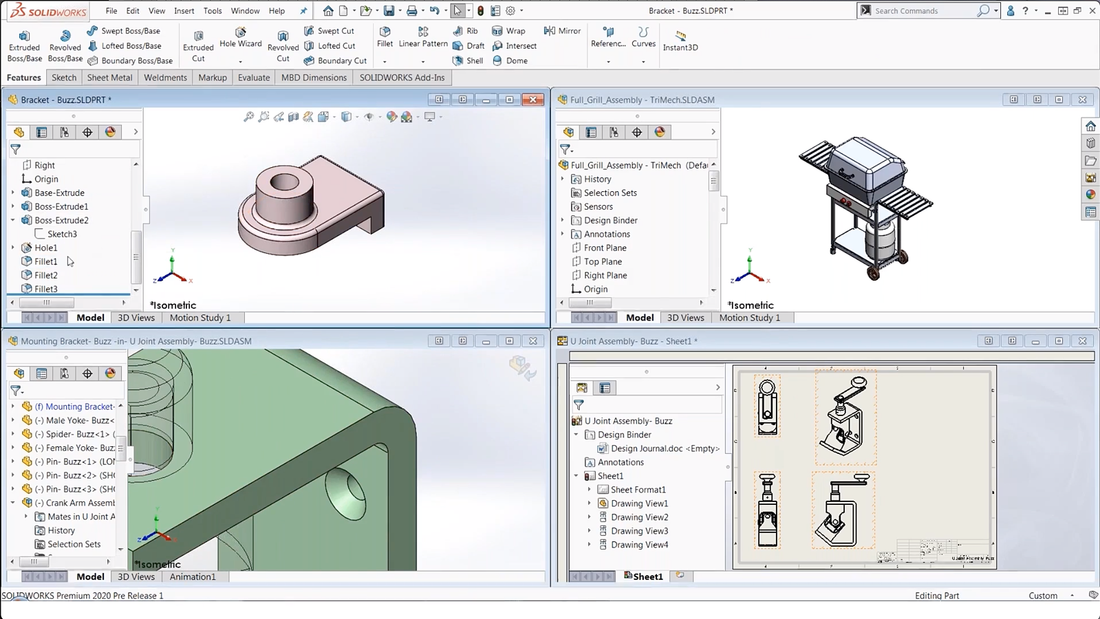 Copy and paste in SOLIDWORKS