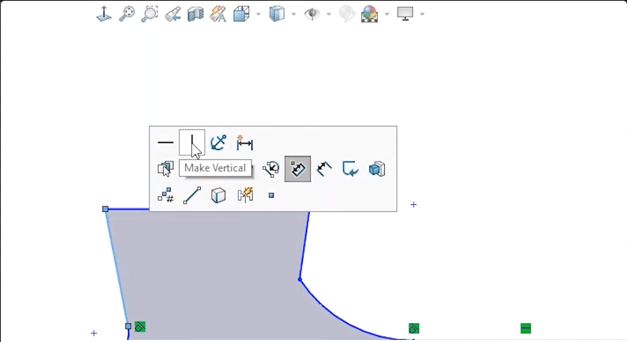 SOLIDWORKS Quick Relations