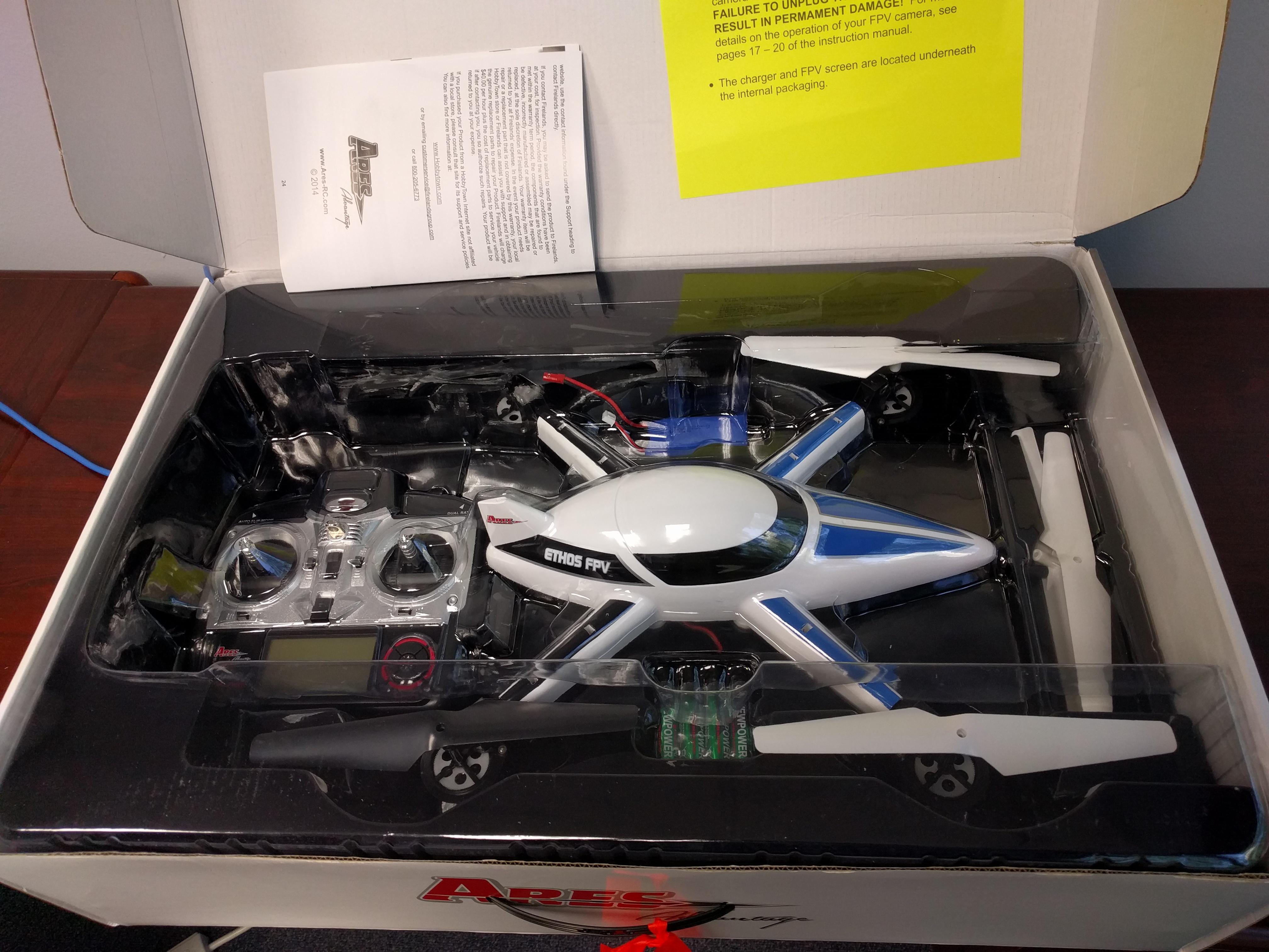 Let the TriMech Drone Wars Begin!