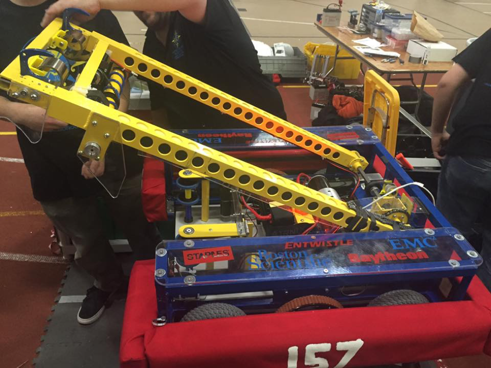 Medieval Battles Meet Robots At The FIRST STRONGHOLD Competition