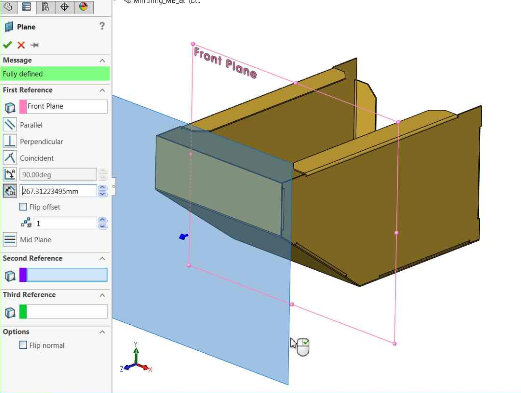 An Old Trick For Quickly Creating Reference Planes In SOLIDWORKS