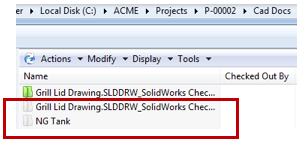 What Do Different Folder Colors In SOLIDWORKS PDM Mean?