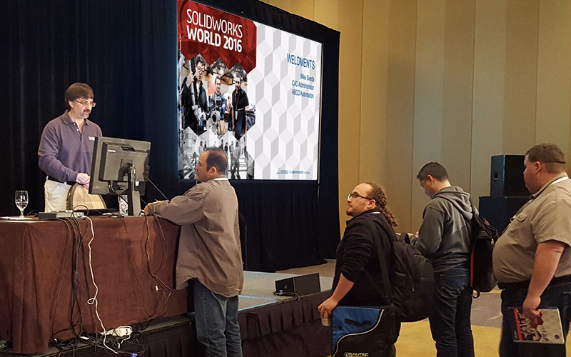 SOLIDWORKS World 2016 Customer Spotlight: Mike Sveda, ABCO Automation