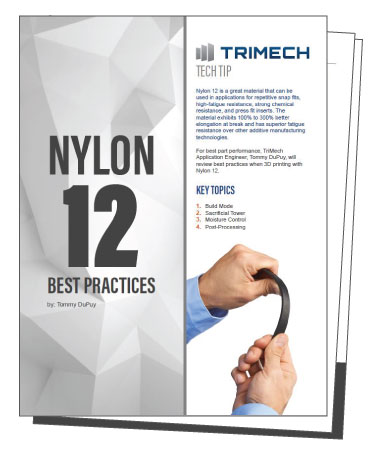 Best Practices for 3D Printing with FDM Nylon 12