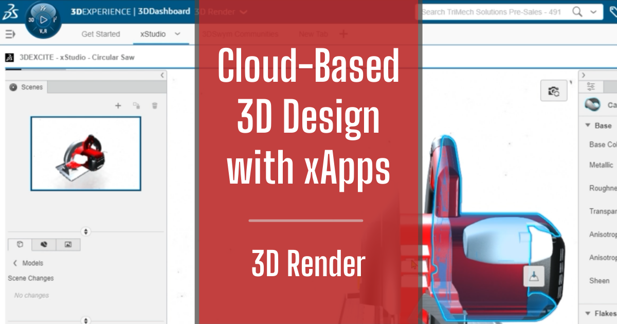 Cloud-Based 3D Design with xApps - Part 9: 3D Render
