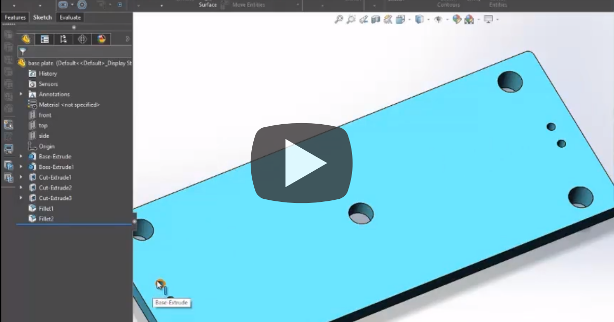 Image of What is the SketchXpert Tool in SOLIDWORKS?