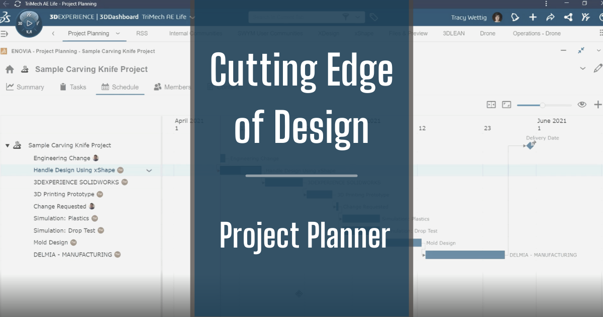 The Cutting Edge of Design - Part 1: Project Planner
