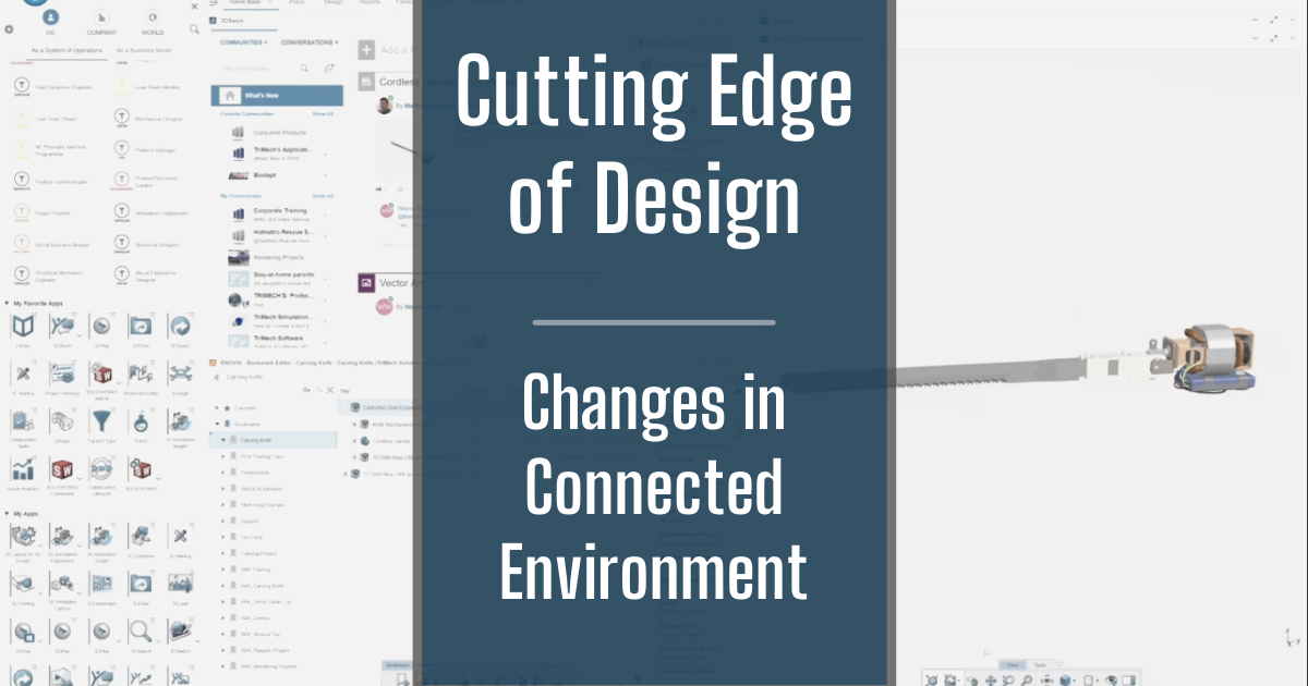 The Cutting Edge of Design - Part 3: Making Changes in a Connected Space