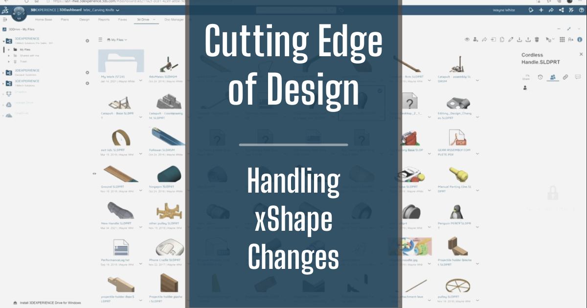 The Cutting Edge of Design - Part 7: Handling xShape Changes
