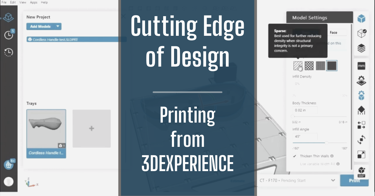 The Cutting Edge of Design - Part 8: 3D Printing from 3DEXPERIENCE