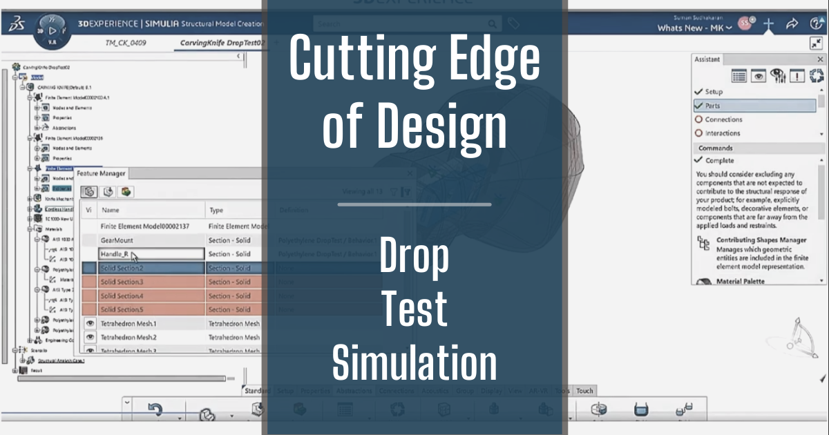 The Cutting Edge of Design - Part 9: Drop Test Simulation