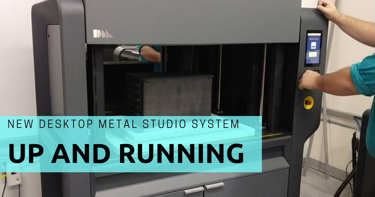 New Desktop Metal Machine Up and Running in Connecticut!