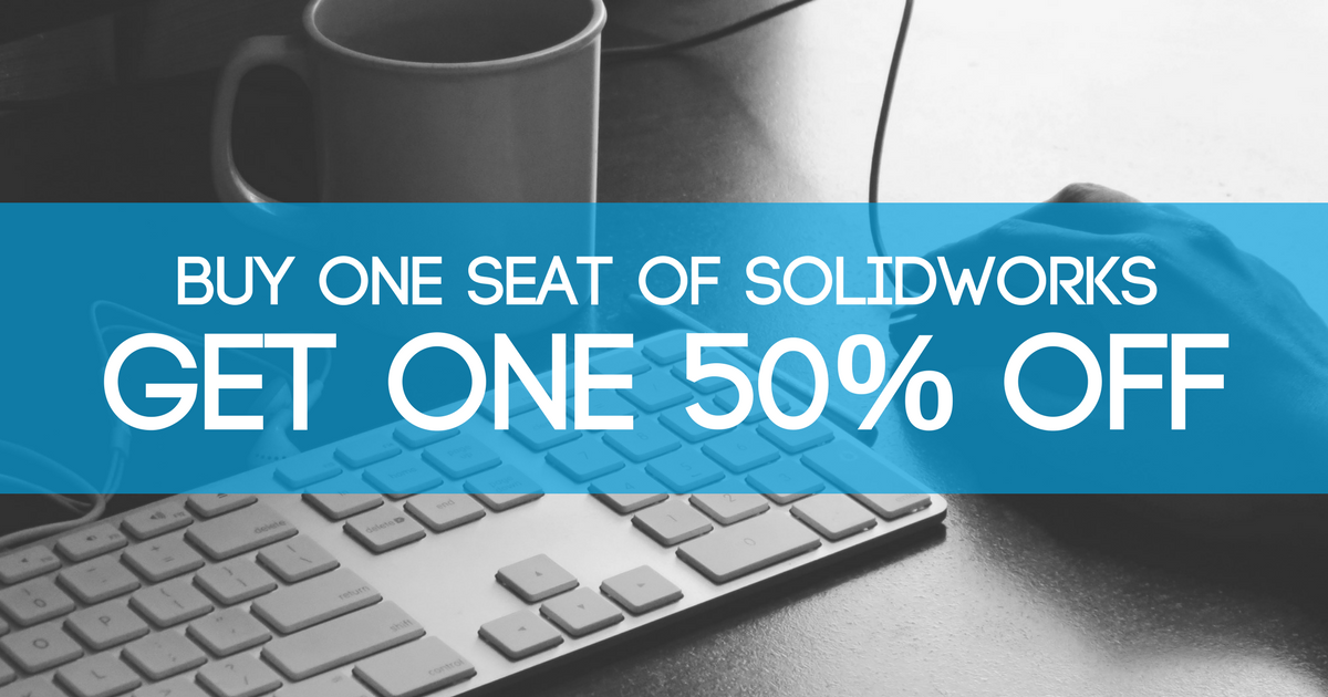 Image of SOLIDWORKS - Buy One Get One Half Off