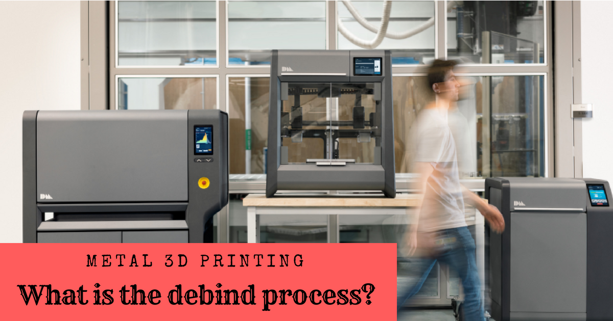 Metal 3D Printing: What is the Debind Process?