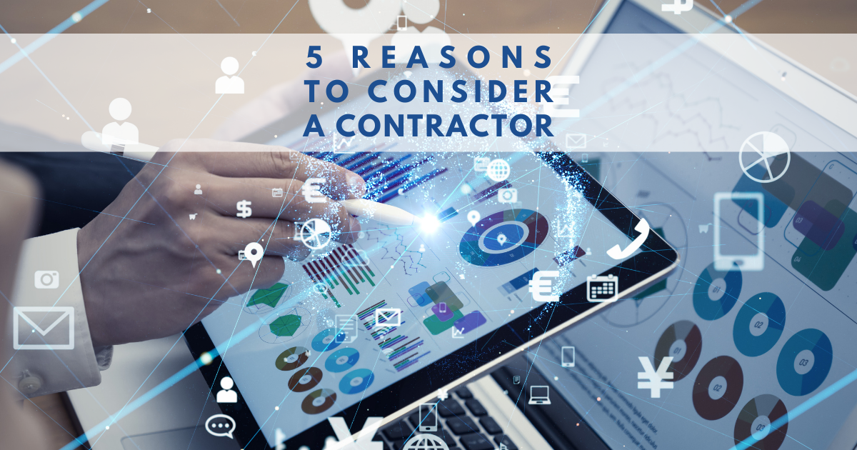 Contractors for Hire! 5 Reasons to Consider Contractors