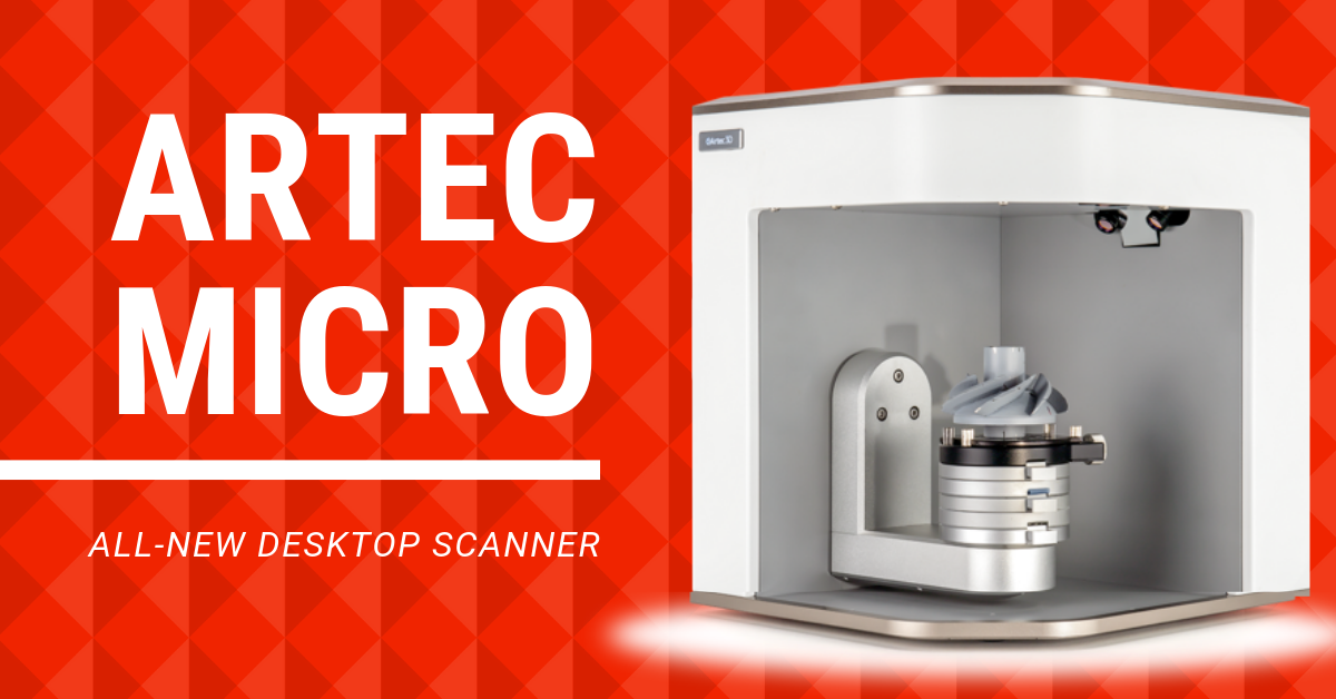 Product Launch: New Artec Micro Desktop Scanner
