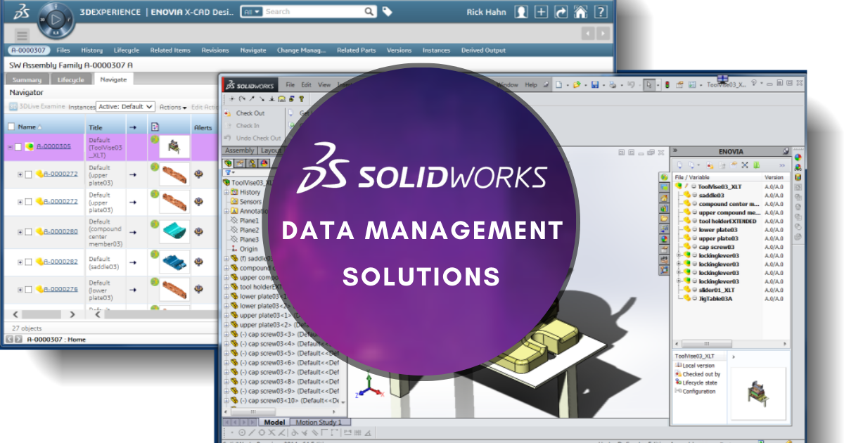 Choosing between SOLIDWORKS PDM Standard, Professional and Manage