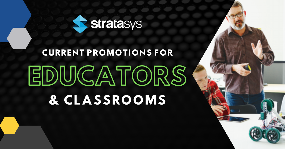 Image of Promotions for 3D Printing Educators