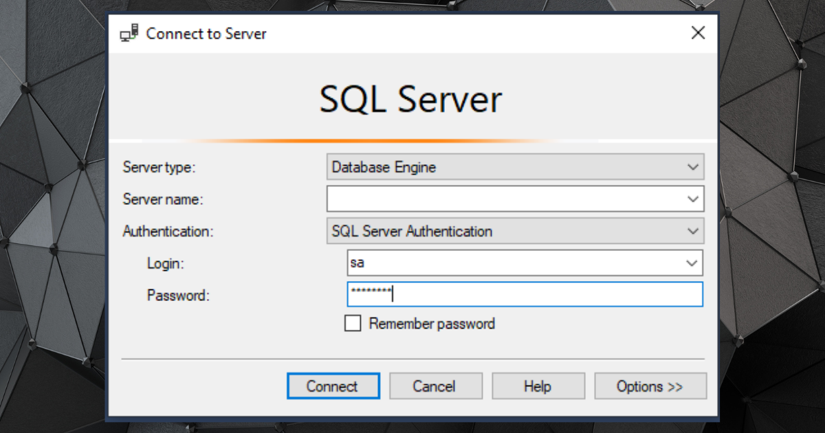 How to Change Your SQL SA Account Password