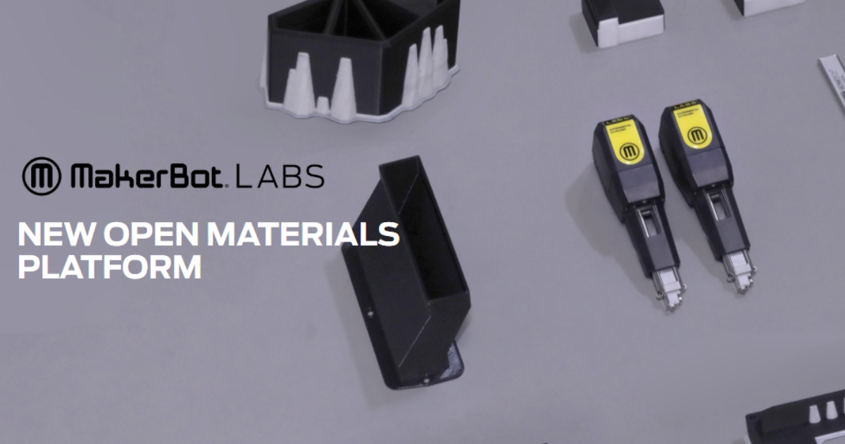 MakerBot LABS Expands Capabilities of the MakerBot Method