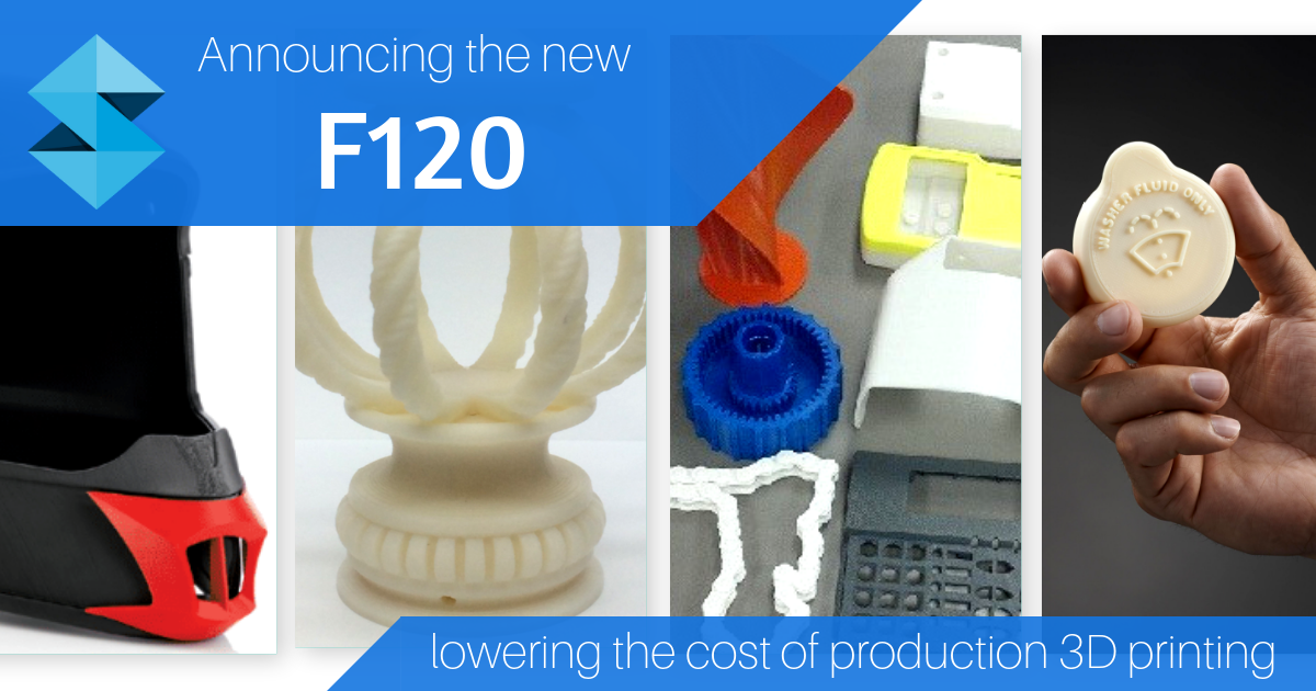 Product Launch: New Stratasys F120 3D Printer