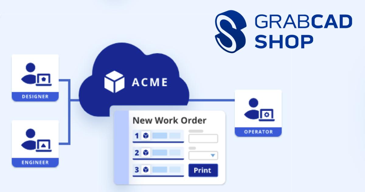 Image of GrabCAD Shop Free Trial