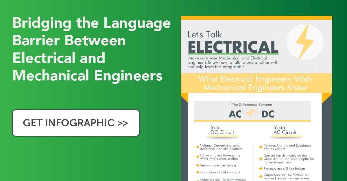 Let's Talk Electrical: Mechanical vs Electrical Engineering Jargon