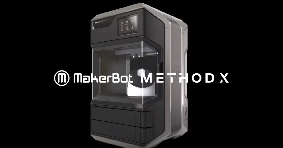MakerBot Announces the New MakerBot Method X