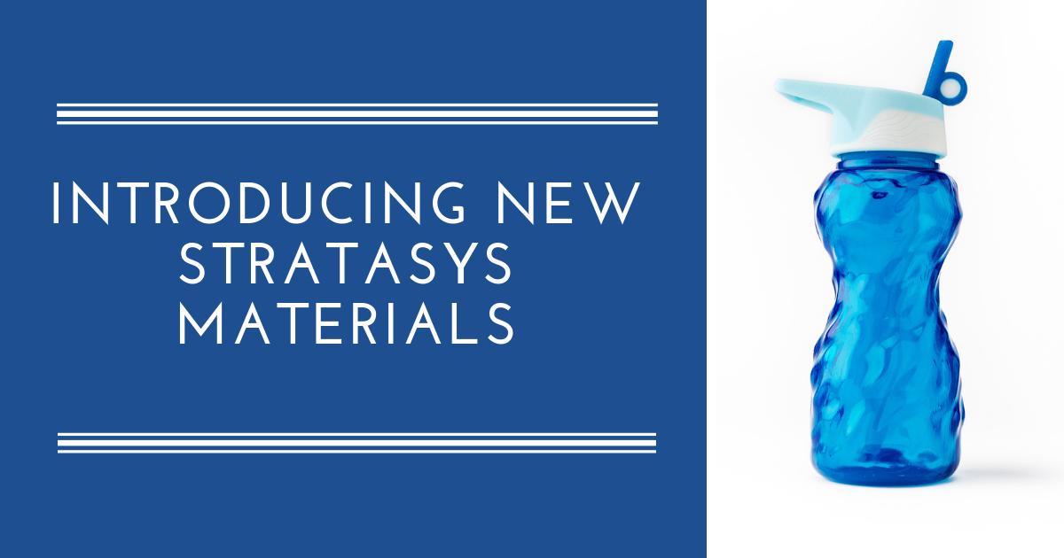 Image of New Stratasys Materials: Elastomer, Agilus, VeroVivid and More!