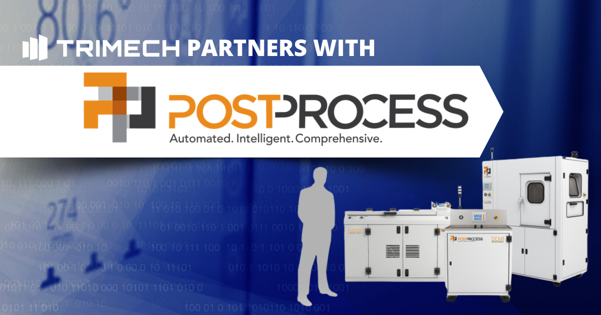 TriMech Partners with PostProcess Technologies