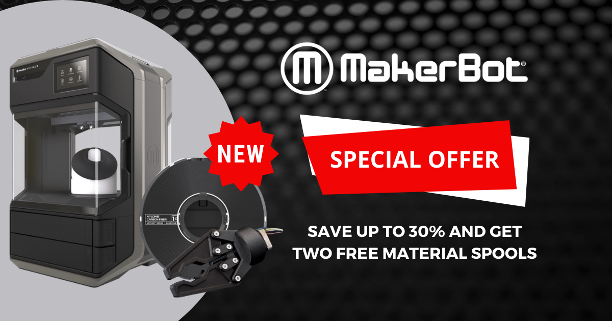 Image of Save Up to $1,500 on MakerBot METHOD or METHOD X