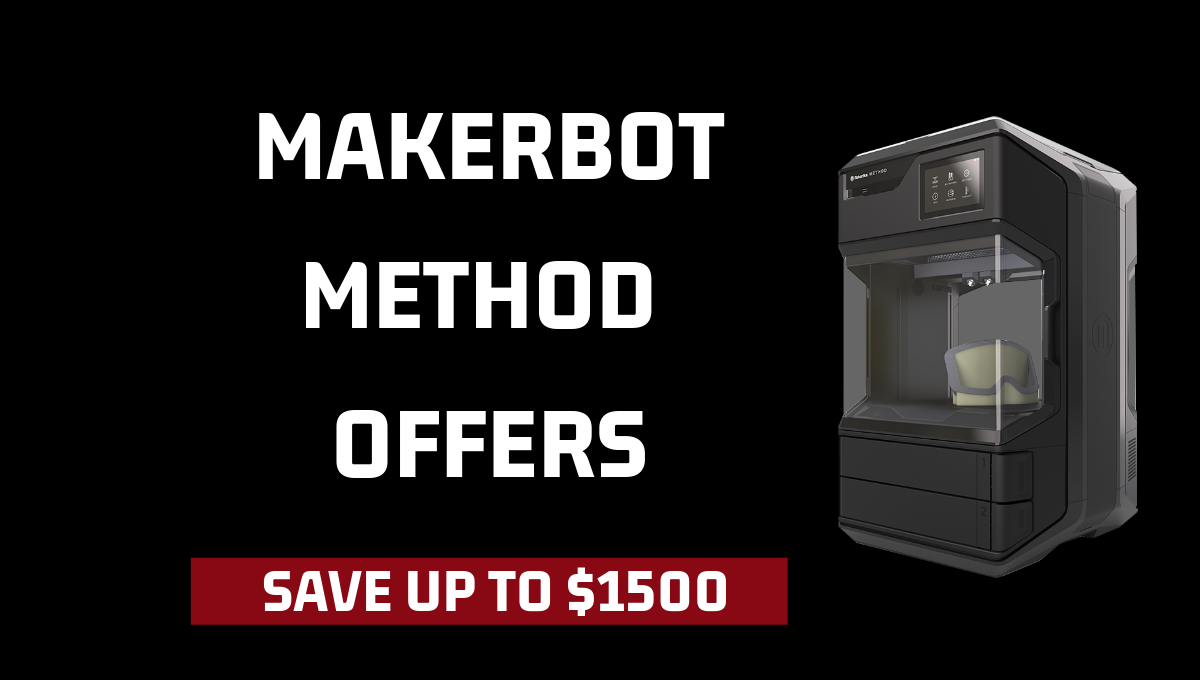 Image of EXPIRED- Save Up to $1,500 When You Buy The New MakerBot Method Performance 3D Printer