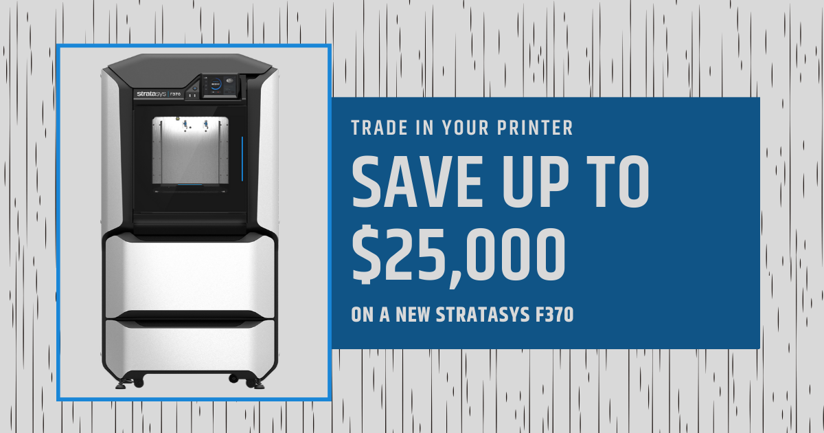 Image of Trade In Your Printer For Big Savings On a New Stratasys F370