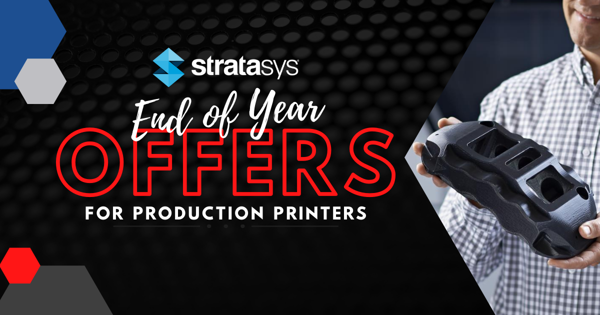Image of Stratasys End of Year Offers for Production Printers