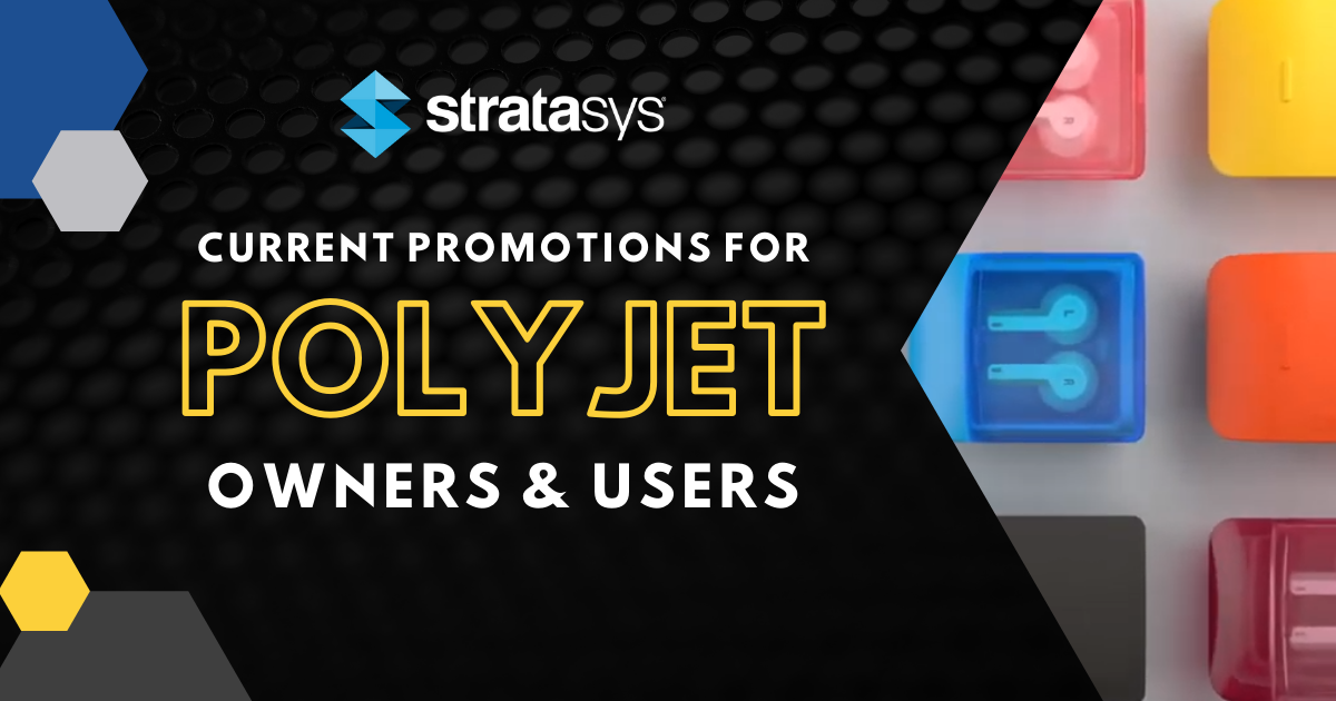 Image of Promotions for POLYJET Owners & Users